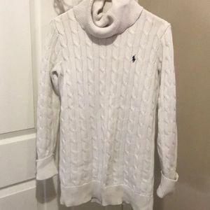 polo dress sweater